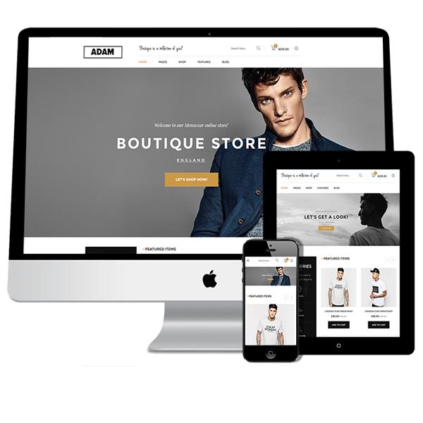 Adam Volusion Responsive Design Template | Premium