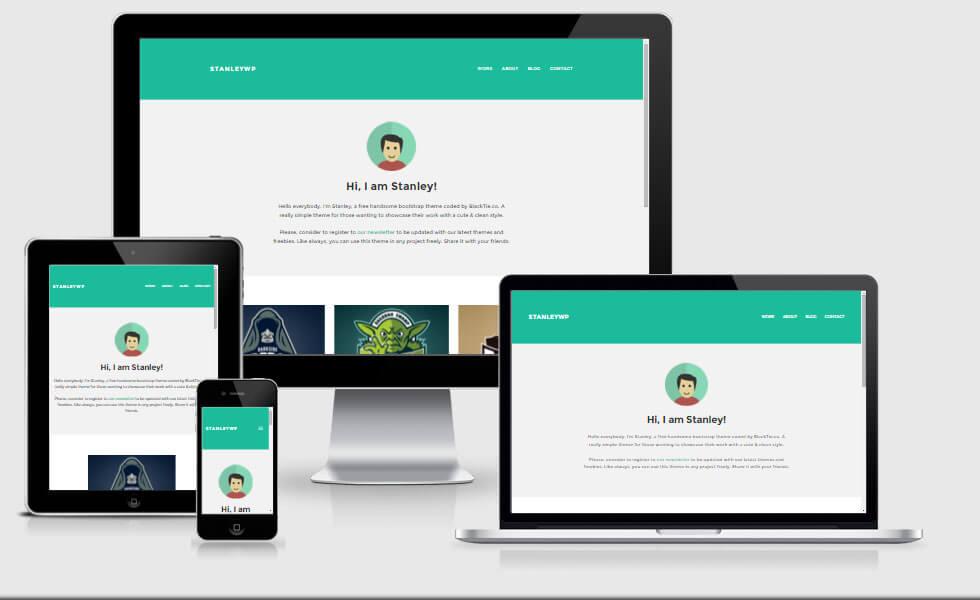 StanleyWP-Responsive-WordPress-Showcase-Theme-Preview